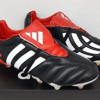 Sepatu Bola Adidas Predator 20 Mania Remake CHROME Black White Red