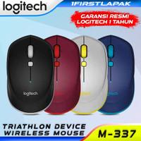 Logitech M337 Bluetooth Mouse Original Mouse Logitech Tanpa Kabel
