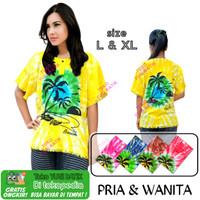 Baju Santai Baju Pantai Baju Bali Baju Pelangi L & XL Pria Wanita