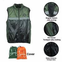 vest sepeda army hitam vest terkeren