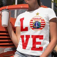 T-Shirt Persija Love White 2020