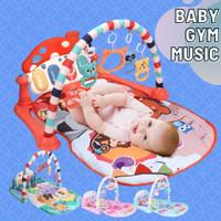 Baby Gym Musical Set Musik Bayi Playgym Play Music Matras Mainan Piano