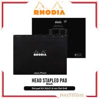 Buku Catatan Rhodia A3 Plus Head Stapled Pad N38 Notepad