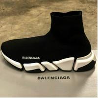 Sepatu Balenciaga Speed Trainer 2.0 Black White