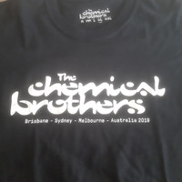 official tour merchandise kaos band the chemical brothers unisex