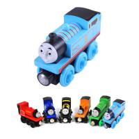 Mainan Kereta Api Thomas Wooden Magnet (Random Model) Thomas Train - Multi Warna