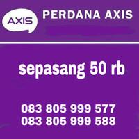 nomor cantik Axis 4G pasangan