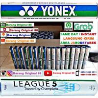 YONEX LEAGUE 5 SHUTTLECOCK BADMINTON ORIGINAL KOK BULUTANGKIS COCK YL5