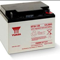 Yuasa NP38-12 NP38 38AH 12Volt battery aki accu kering UPS