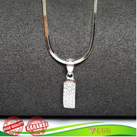 Kalung Liontin Wanita Silver 925 Swarovski Kalung Perak Original