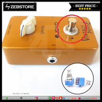 Switch Pedal Effects Foot Push 3PDT 9Pin True Bypass Blue