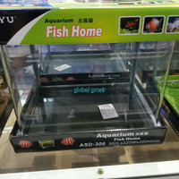 BOYU AQUARIUM FISH HOME AQUARIUM KACA MINI
