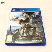 Kaset BD PS4 Monster Hunter World - Second / Bekas