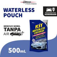 REFILL KIT Waterless Car Wash POUCH 500ml shampoo cuci mobil tanpa air