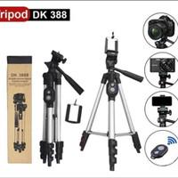 tripod bluetooth remote dk3888 tripod kamera dan hp tripod 1meter