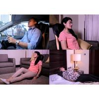 Kursi pijat elektrik bisa di rumah-di mobil massage shiatsu cushion