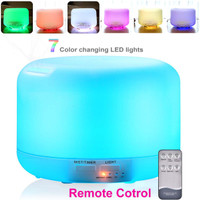 Humidifier Aroma Diffuser 500Ml Remote Aromatherapi aromaterapi