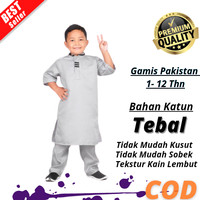 Baju Gamis Anak Laki Terbaru Koko Muslim Ngaji Sholat Bahan Katun
