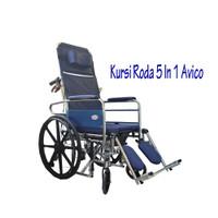 kursi roda siwa 5 in 1 merk avico best seller