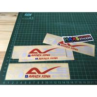 Cutting Sticker AXS Avanza Xenia Solutions Bahan Reflektif
