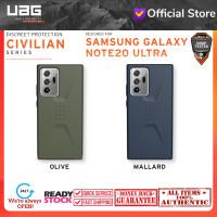Case Samsung Note 20 Ultra UAG CIVILIAN Sleek Ultra-Thin Shock - Note 20 Ultra, Mallard