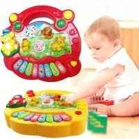 Mainan edukasi edukatif kado anak bayi balita Piano musik Animal farm