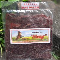 Dendeng sapi manis Elang khas Boyolali 250gr has dalam dan lulur