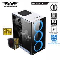 PC RAKITAN AMD RYZEN 3 3200G||RAM 8GB||RADEON VEGA 8 2GB||SSD 120GB ||