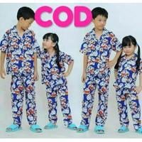 Piyama Anak Perempuan/Baju Tidur Anak Perempuan Doraemon