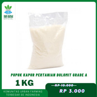 Dolomite Infarm Pupuk Kapur Pertanian Dolomit Grade A