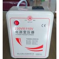 Trafo Step Down 220V-110V 2000Watt High Quality Terjamin Kualitasnya