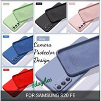 softcase samsung s20FE s20 fe case anti noda silicon bahan lentur