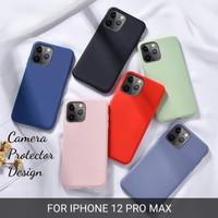 softcase iphone 12 pro 12 pro max case anti noda silicon bahan lentur