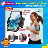 Samsung S20+ Plus + Sport Case Armband Sarung Casing Lengan Soft Arm