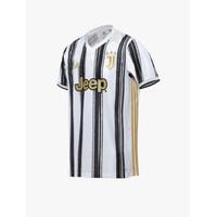 Baju Bola Pria Asli Ori Adidas Juventus Home Jersey White Black