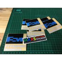 Cutting Sticker PT Freeport Indonesia Bahan Reflektif