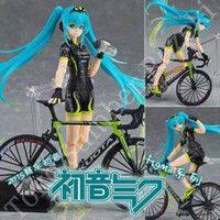 Action Figure Anime Vocaloid Hatsune Miku Nendroid Chibi Racing Cycle