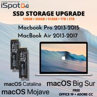 SSD Macbook Air 1TB 2013 2014 2015 2016 2017 A1465 A1466 - 128GB