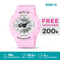 Casio Baby-G Jam Tangan Digital Analog Wanita BA-110BE-4ADR Pink Ori
