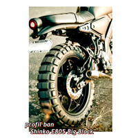 Ban Shinko E805 130/80-17 & 150/70-17 (Paket Hemat)