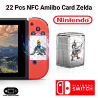 Amiibo Clone Card NFC Legend Zelda Breath Of The Wild Nintendo Switch