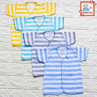 Baju Bayi Lengan Pendek New Born Salur