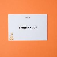 Kartu Ucapan terimakasih / Thankyou Greeting Card