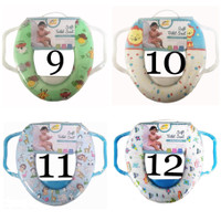 Baby Flow Soft Potty Seat Ring Closet (with handle)