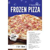 Classified - Frozen Beef Pizza