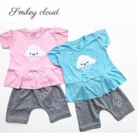 Cloudy Set / Setelan Anak Bayi Perempuan Luci Murah / Baju Bayi Cewe