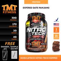 MuscleTech Nitrotech Ripped 2 Lbs Muscle Tech Nitro Tech Ripped 2lbs 2