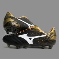 Sepatu Bola Mizuno Morelia Neo II Black Gold