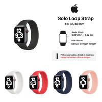 Solo Loop Apple Watch Strap 38mm/40mm series SE 6 5 4 3 2 1
