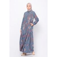 ZM Zaskia Mecca - Inara Navy Dress - Jelita Indonesia - Edisi Maluku